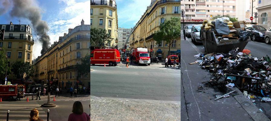 Das Ende einer Wohnungseinrichtung in Paris
