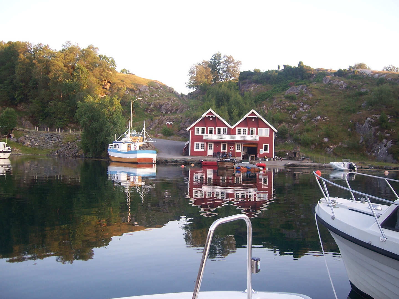 Das Ende eines Fjords