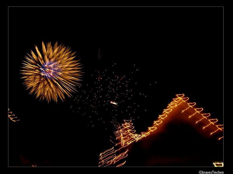 Das endlose Feuerwerk