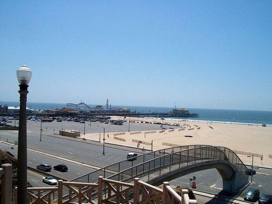 Das erste mal ankommen in Santa Monica