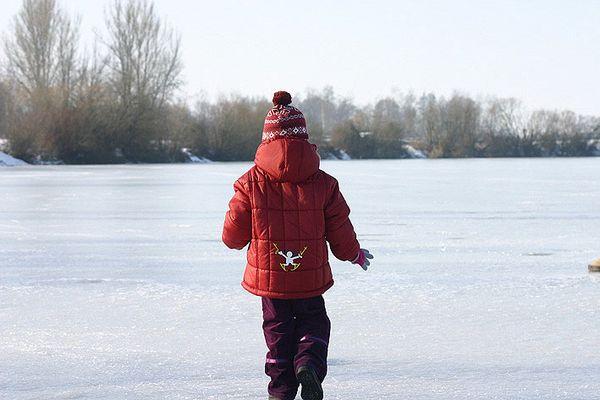 Das erste Mal auf Eis