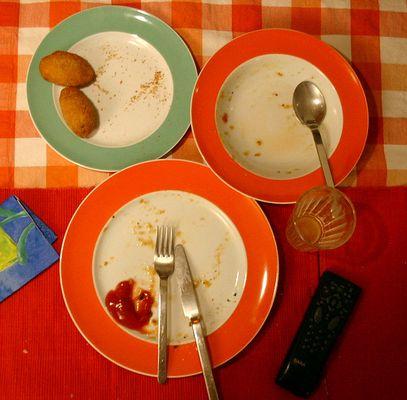 Das Essen ist zu Ende!