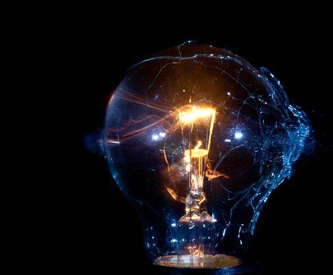 das etwas andere Ende einer Glühbirne
