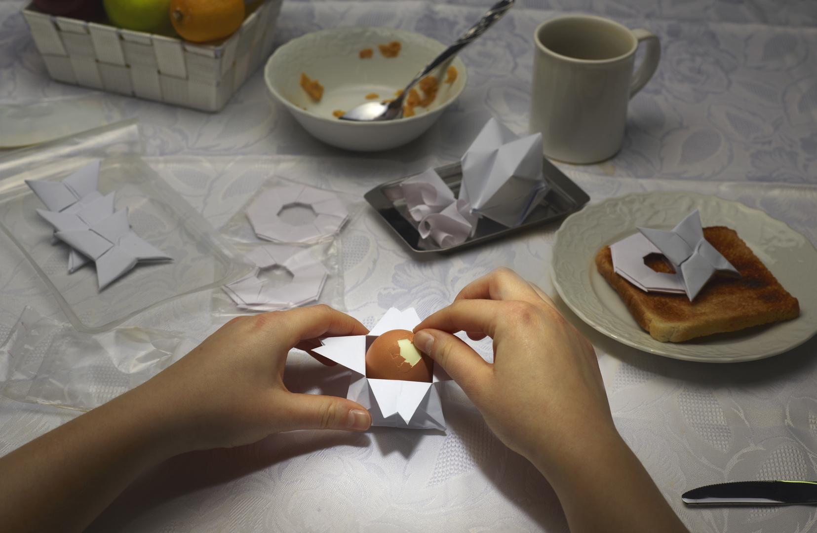 Das etwas andere Frühstück - Eierbecher