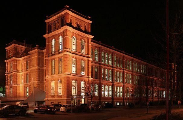 Das Fabrikschloss in Augsburg