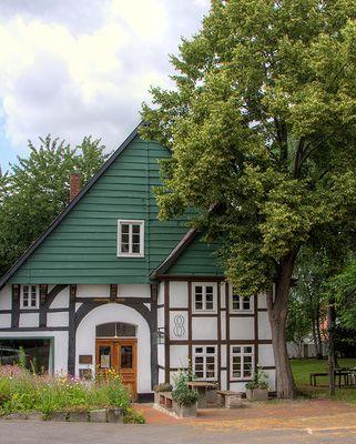 Das Fachwerk  - ein Künstlerhaus in Schötmar