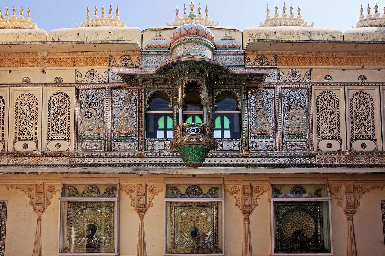 Das Fenster des Maharadja