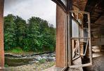 Das Fenster zu Fluss