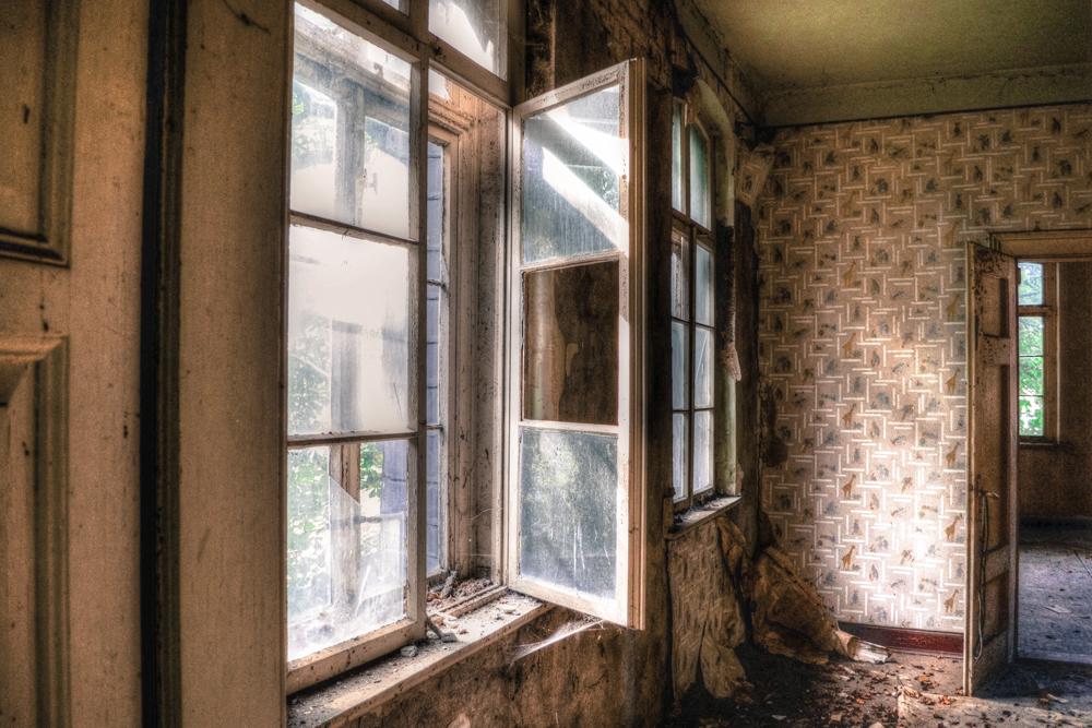 das Fenster zum Hof ...