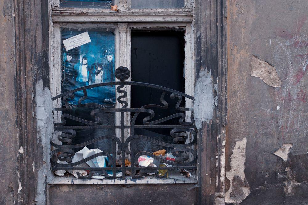 Das Fenster zur Strasse