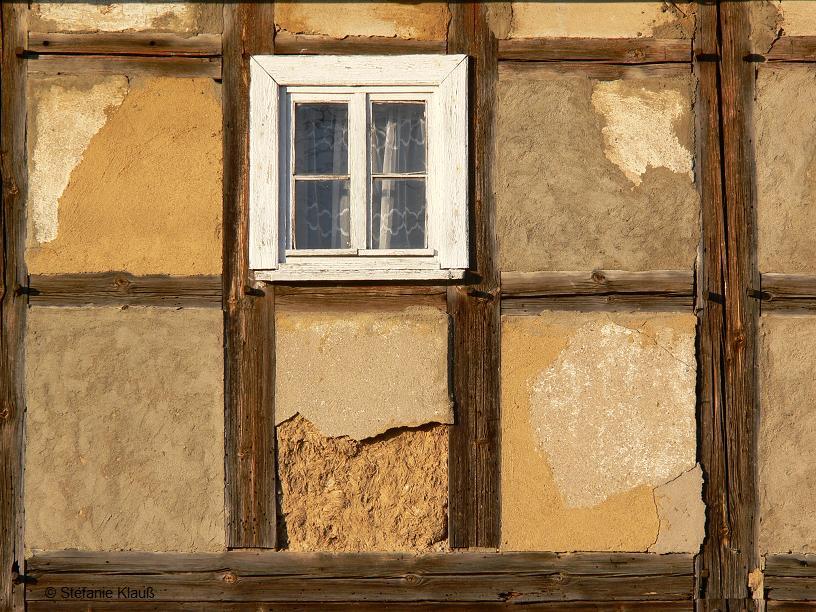 Das Fenster zur Straße