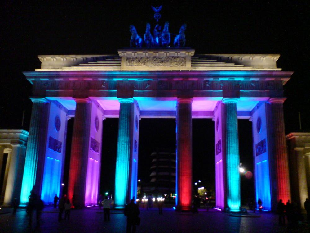 Das Festival der Lichter am Brandenburger Tor 2009