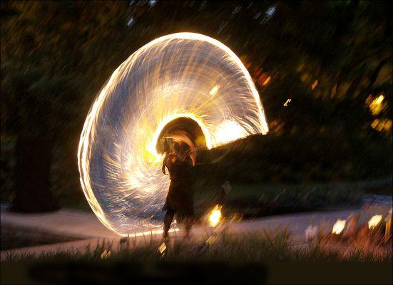 Das Feuerrad ...