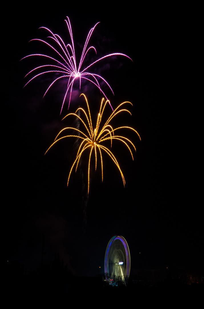 Das Feuerwerk der Soester Kirmes 2013 (2)