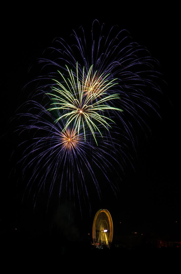 Das Feuerwerk der Soester Kirmes 2013 (4)