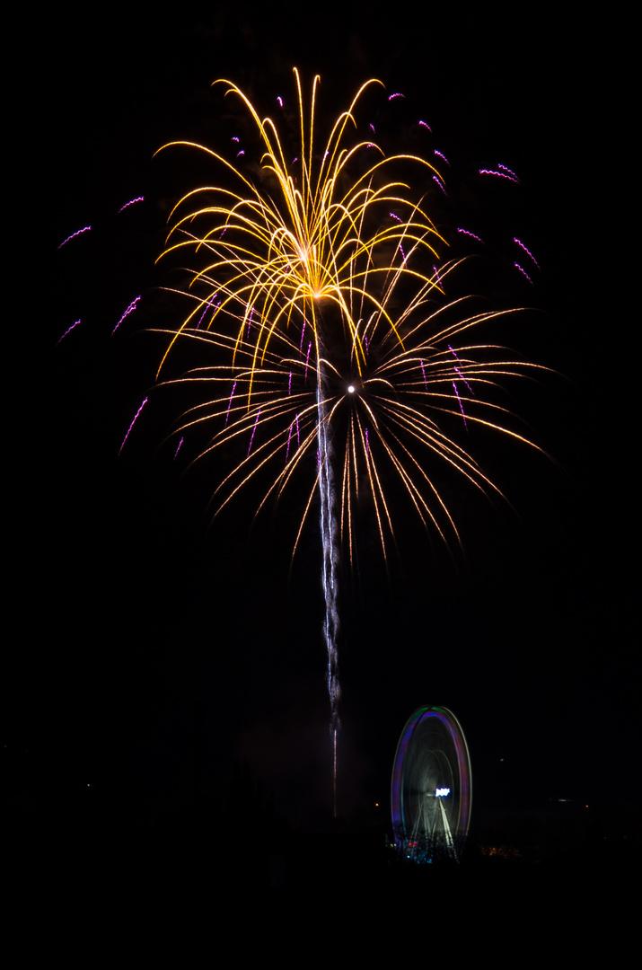 Das Feuerwerk der Soester Kirmes 2013 (6)