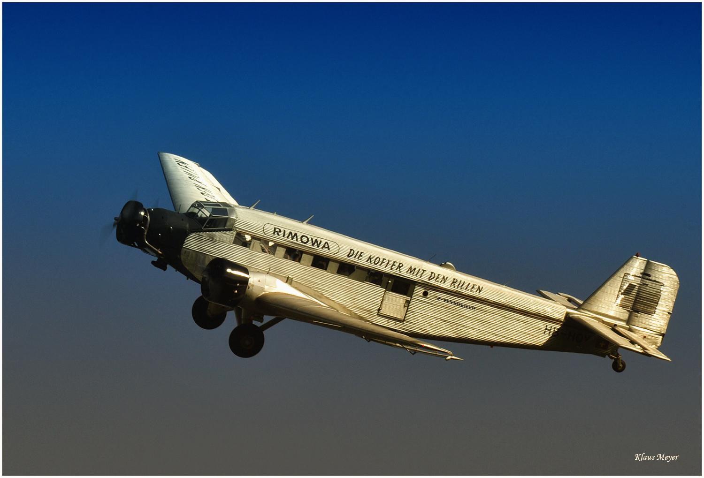 Das Flugzeug mit den Rillen,