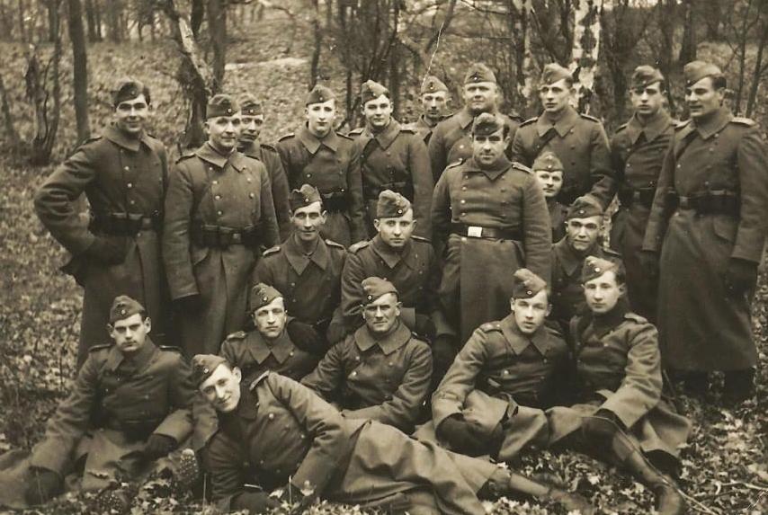Das Foto entstand 1941
