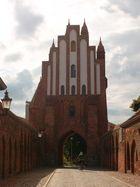 Das Friedländer Tor in Neubrandenburg