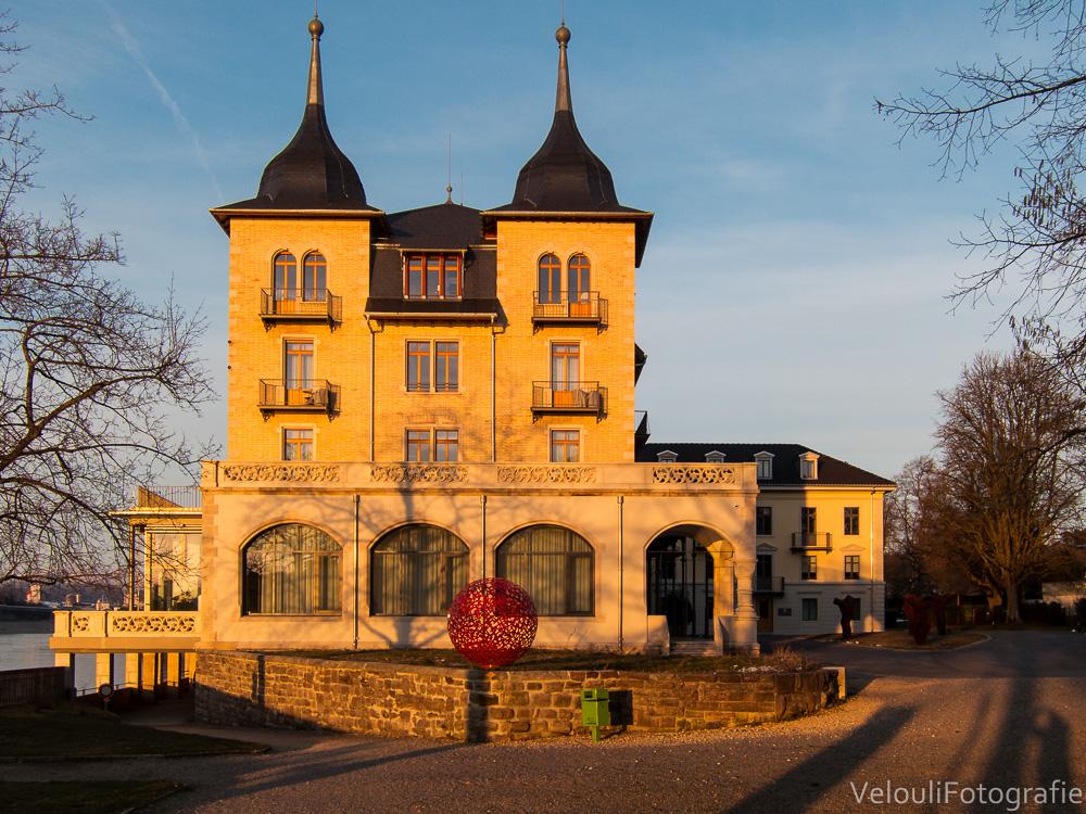 das frisch renovierte Grand Hotel