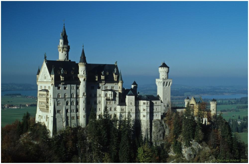 Das fünfhundertmillionste Neuschwanstein-Photo, mindestens . . .