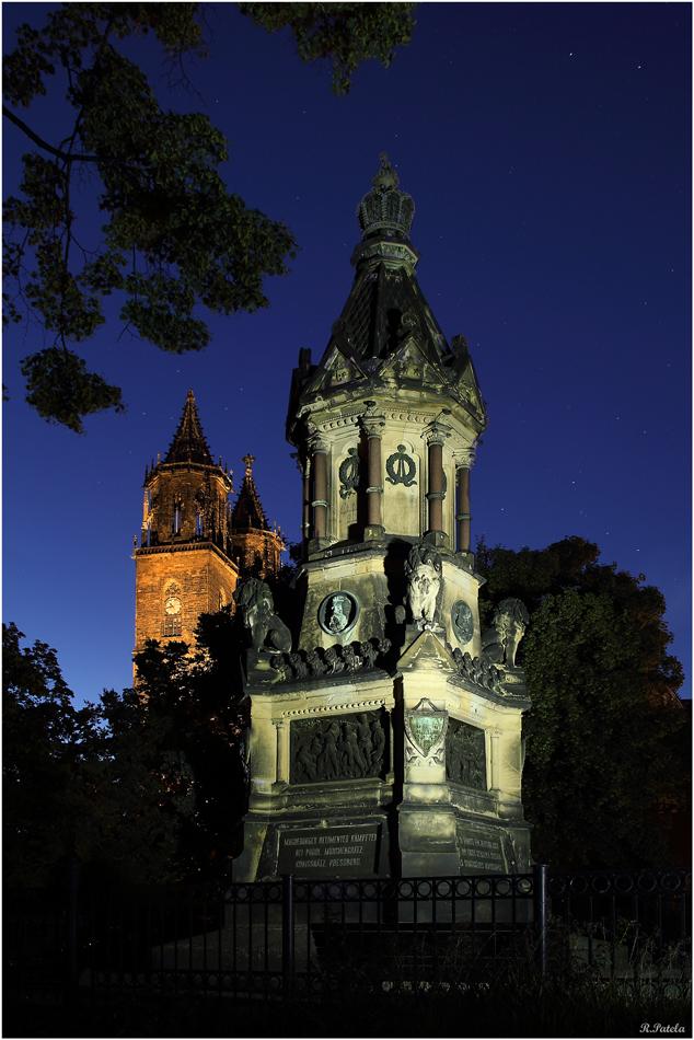 Das Fürstenwalldenkmal...