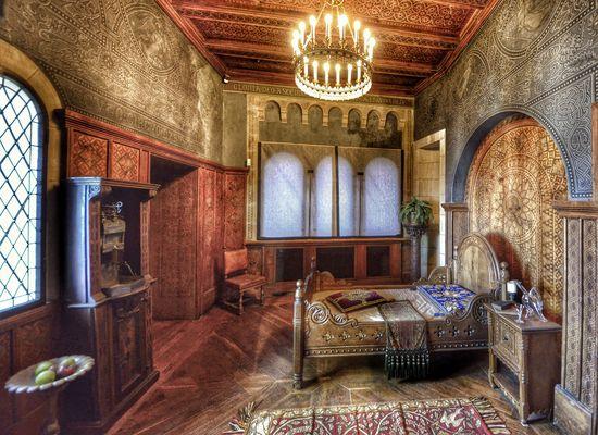 Das Fürstenzimmer auf der Wartburg