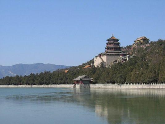 Das Gebäude, damit Königin den See aufpaßt.