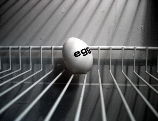 Das gefangene Ei!