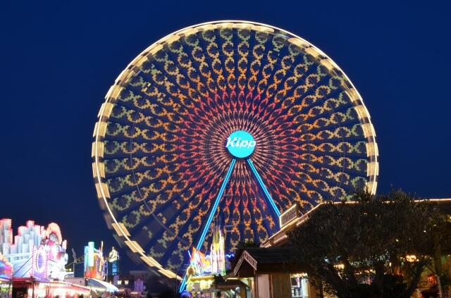 Das gehäkelte Riesenrad