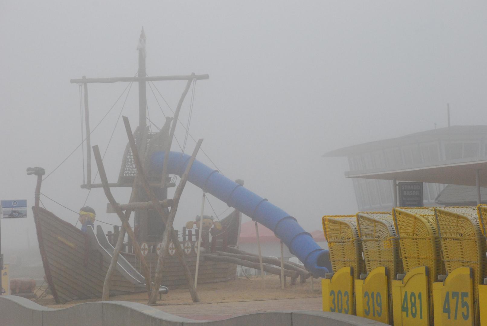 Das Geisterschiff - Nebel über Cuxhaven