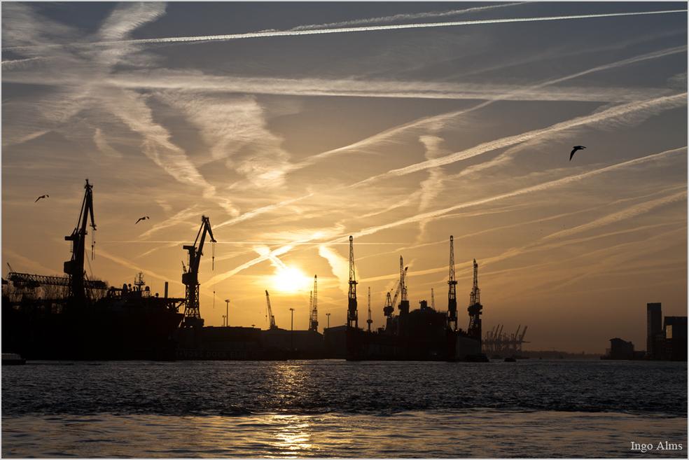 Das Gelbe im Hafen Hamburg