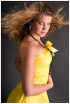 ... das geliebte gelbe Kleid ...