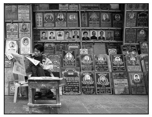 Das Geschäft mit dem Tod-Hanoi Vietnam