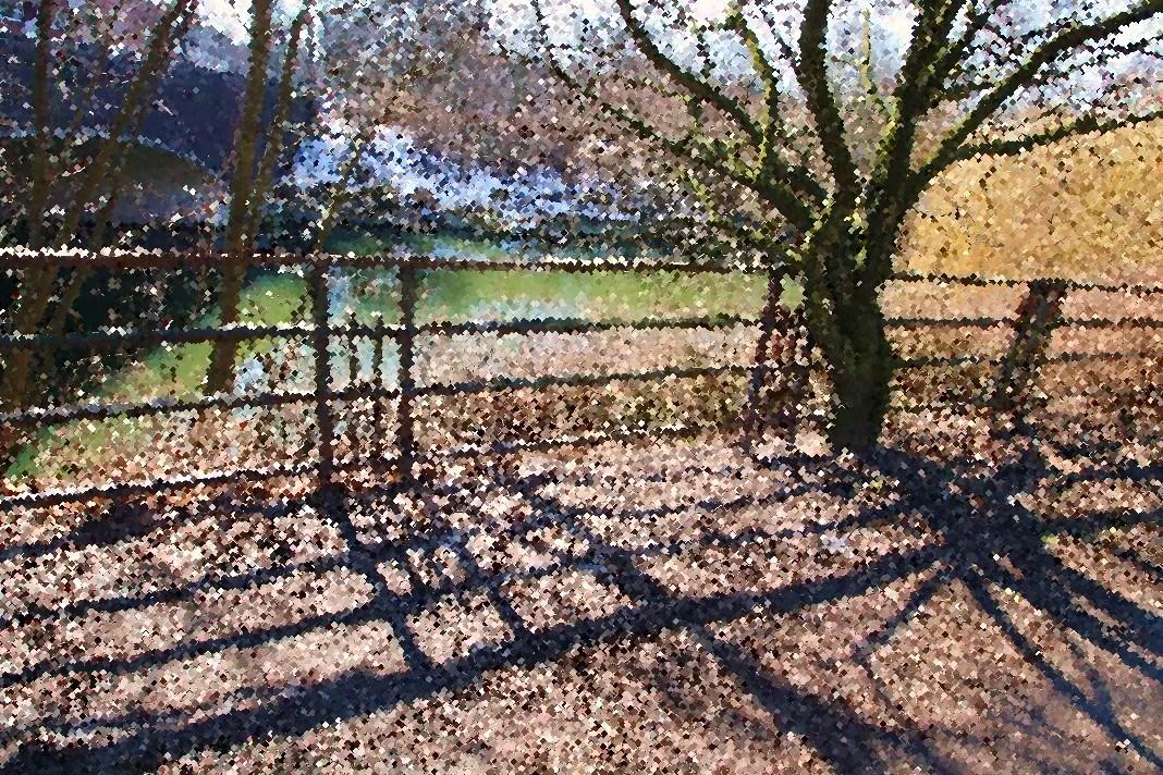 Das Gitter am Kanal