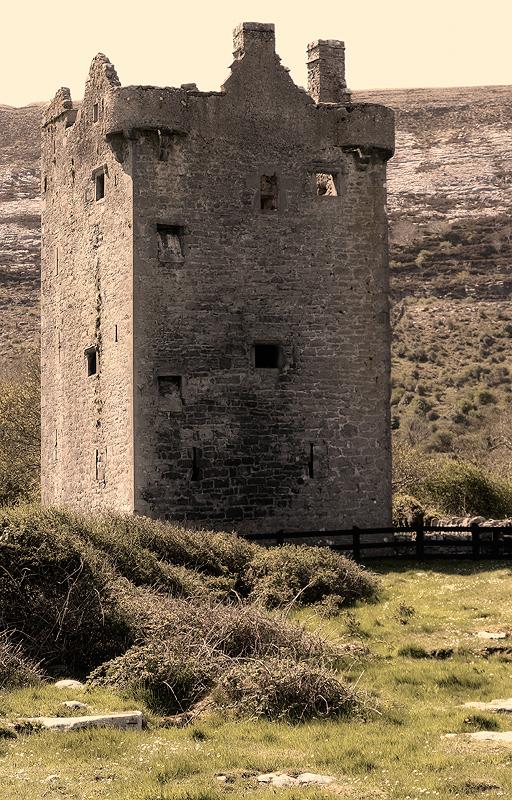 Das Gleninagh Castle...