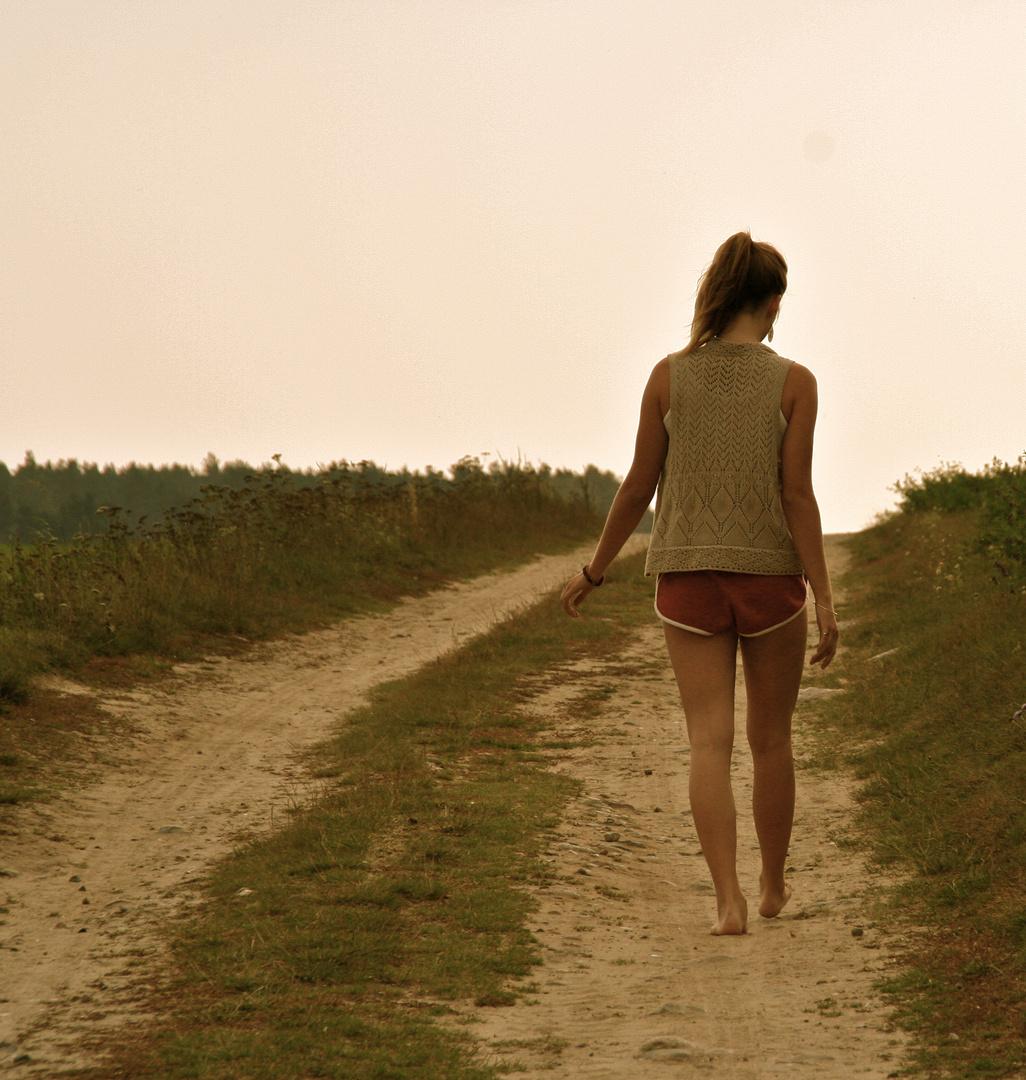 Das Glück besteht nicht darin, sein Ziel zu erreichen, sondern auf dem Weg dorthin zu sein.