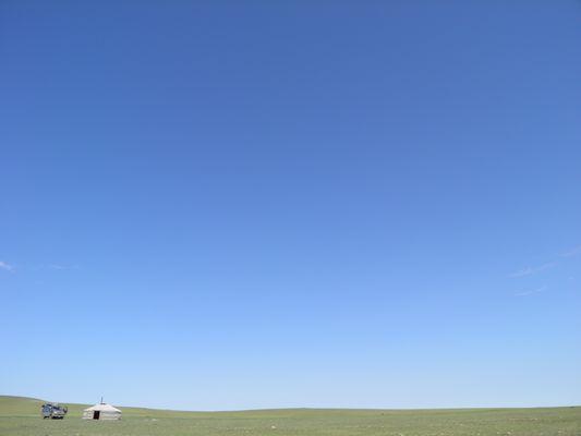 Das Glück des blauen Himmels