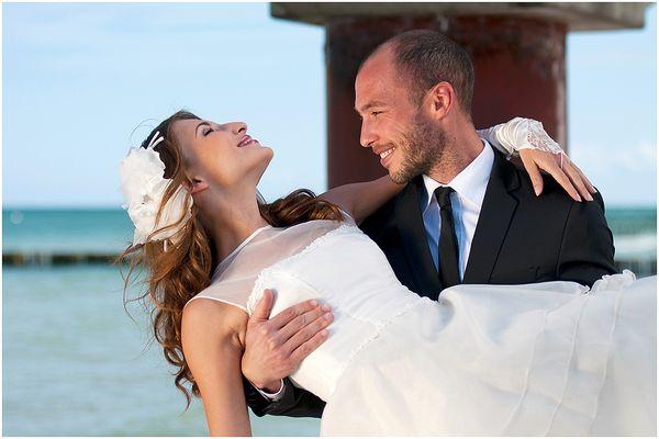das glücklichste Paar auf Erden!