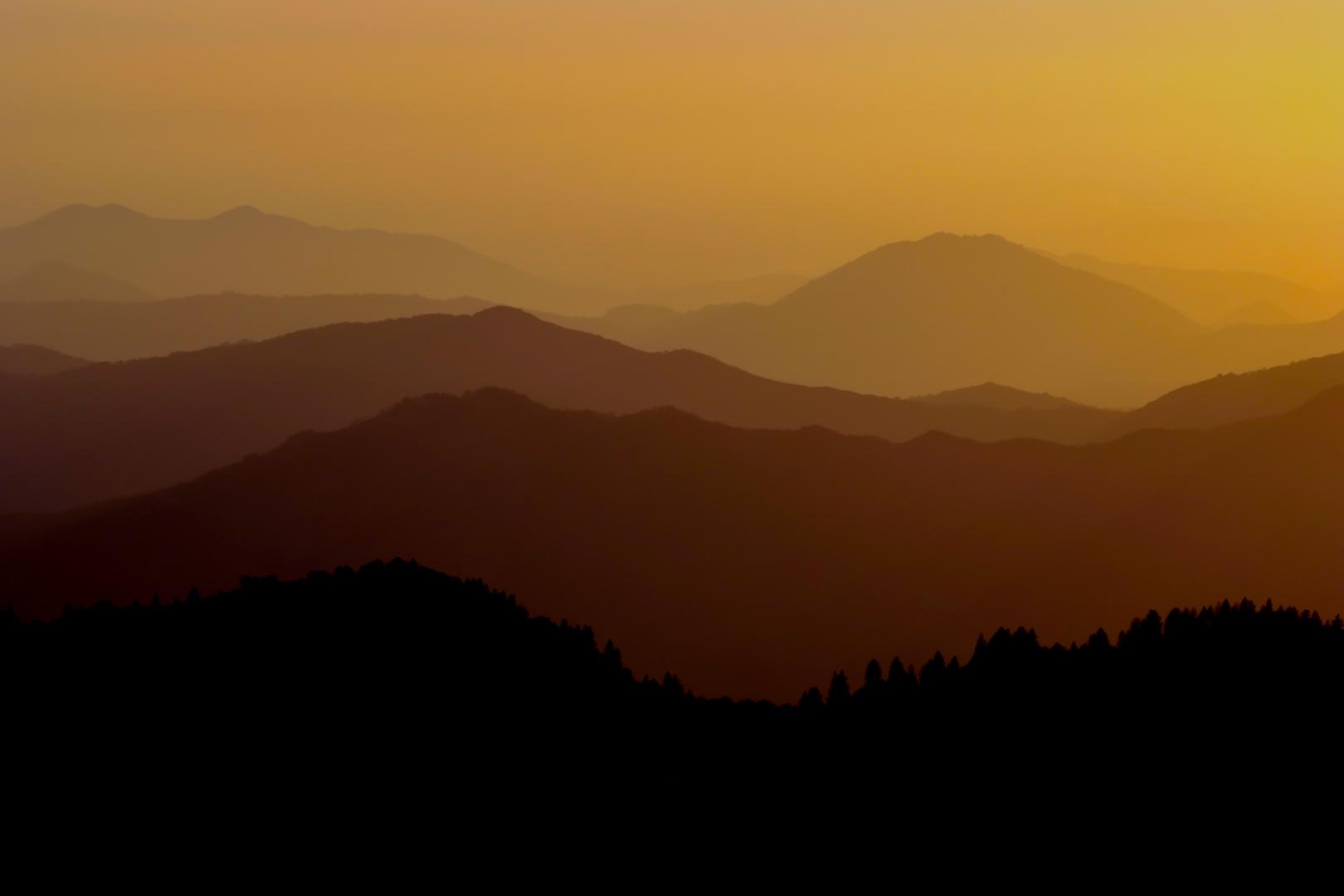 Das Glühen der Sierra Nevada