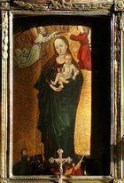 """Das Gnadenbild """"Maria in der Sonne"""" im Stephansdom"""