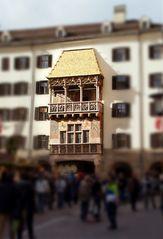 Das goldene Dachl ...