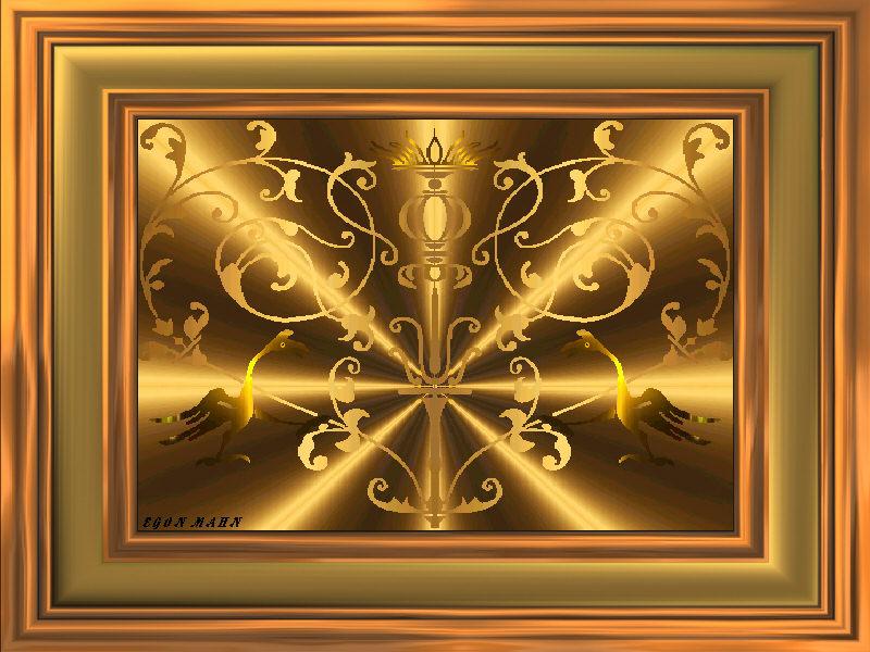 Das goldene Ornament