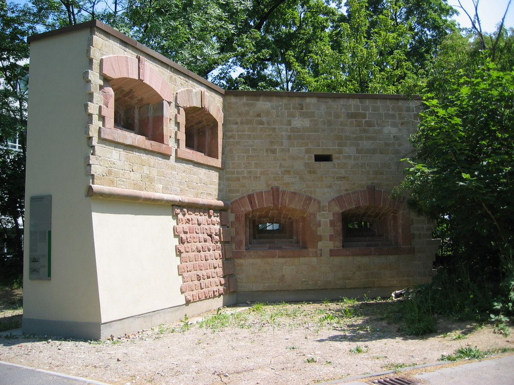 Das Gonsenheimer Tor in Mainz - neu erbaut !