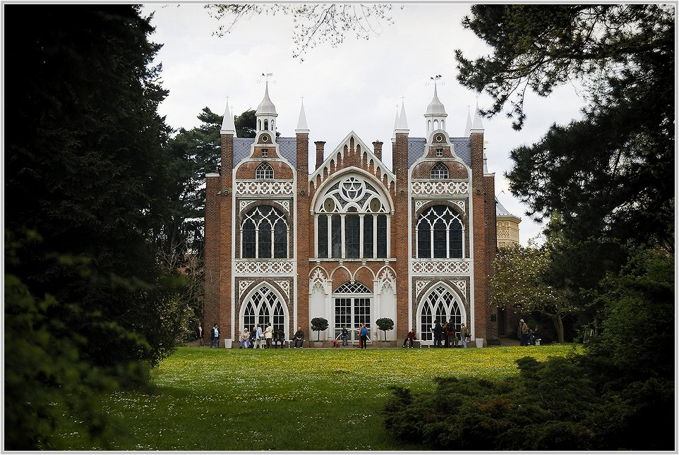 Das Gothische Haus im Wörlitzer Park