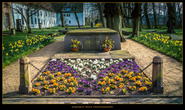 Das Grab des Dichters