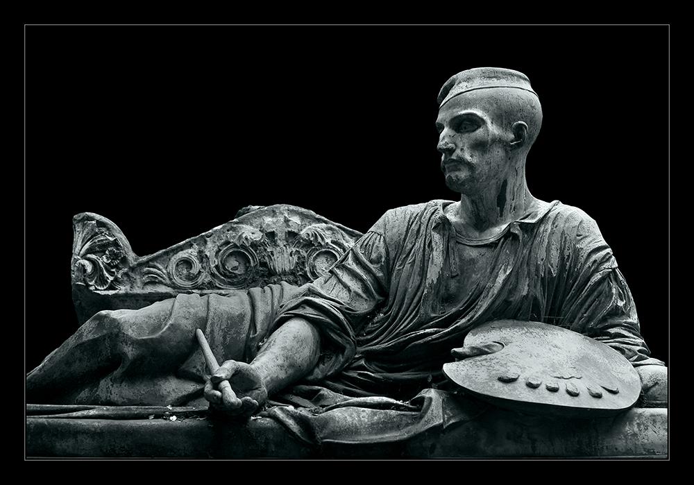 Das Grab des Malers