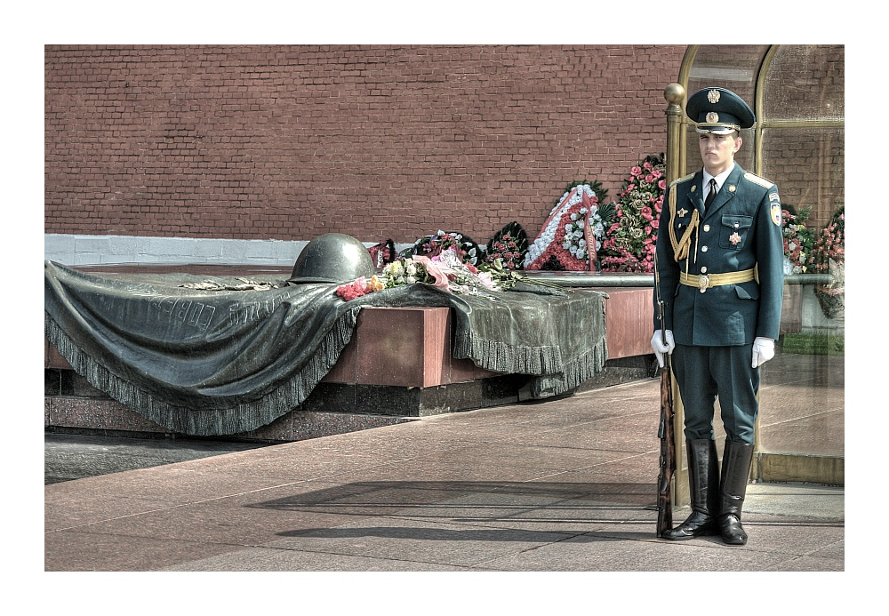 Das Grab des unbekannten Soldaten