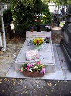 Das Grab von Yves Montand und Simone Signoret