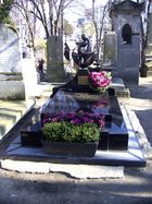 Das Grabmal von Ludmilla Tcherina